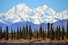 Denali In Alaska, Is The Highe...