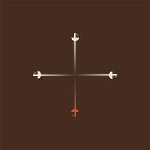 Three Musketeers Original Vector Logo. EPS Icon