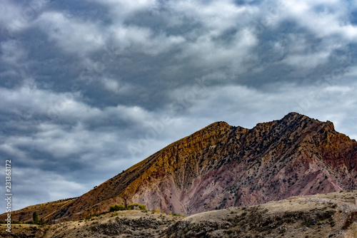 Spoed Foto op Canvas Cappuccino Armenian Mountains