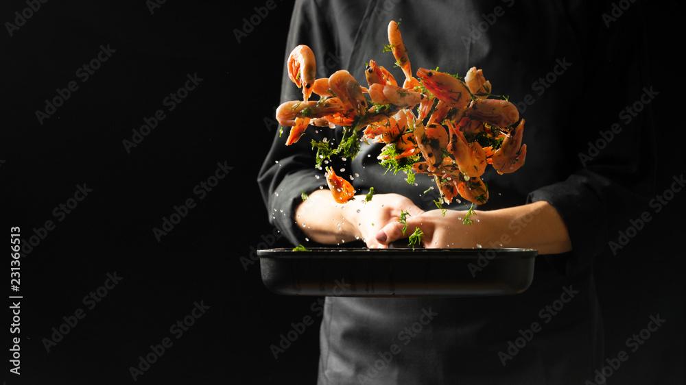 Fototapety, obrazy: Professional chef