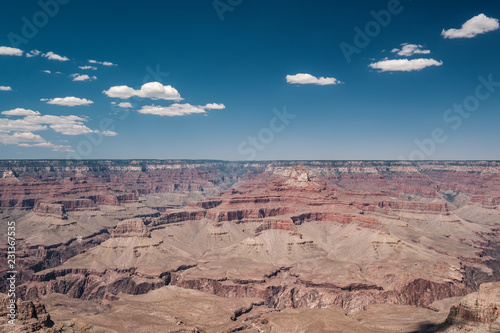 In de dag Verenigde Staten Grand Canyon landscape