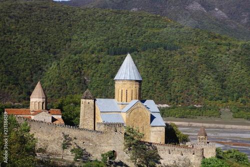 Foto  Festung Ananuri-Georgien