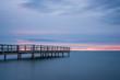 El horizonte y el embarcadero