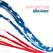 Happy Birthday Marines Message...
