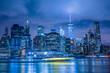ニューヨーク・マンハッタンの夜景