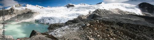 Photo Panorama view on the Snowman Trek Bhutan near Rinchen Zoe La (5,200m)