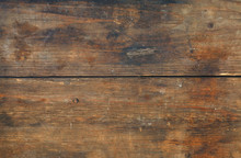 Brown Old Vintage Wooden Planks Background