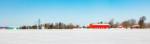 Antique Barn In Rural Quebec C...