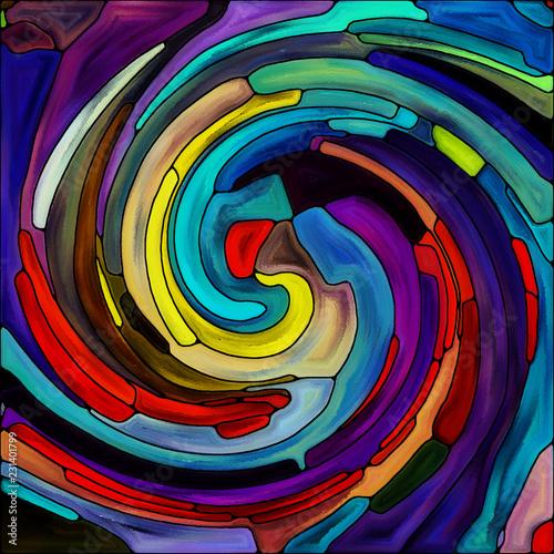 Accidental Spiral Color