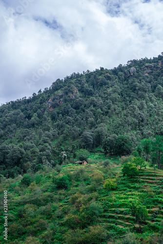 Landscape of Bhimtal, Uttarakhand, India