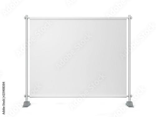 Foto Blank backdrop banner
