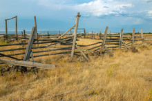 An Abandoned Corral In Central Oregon