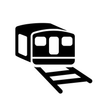 Funicular Railway Icon. Trendy...