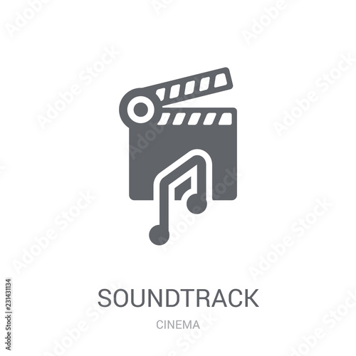 soundtrack icon Canvas Print