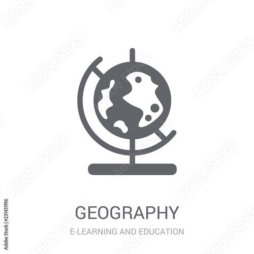 Fotografia, Obraz  Geography icon