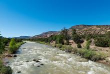 Chama River Near Abiquiú, New...