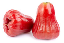 Rose Apple On The White Background.