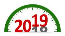 Clock Dial 2019, Half