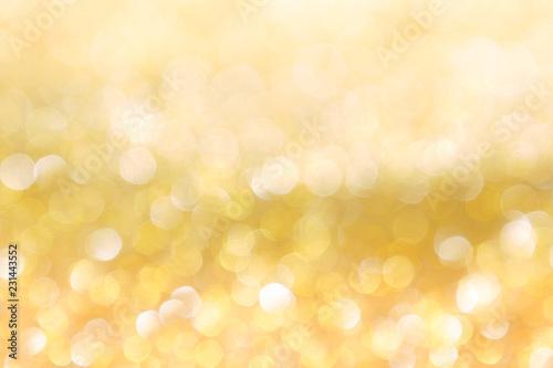 Fototapeta abstract background gold light bokeh christmas holiday obraz na płótnie