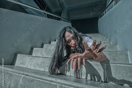 Photo  Ghost university girl