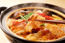 キムチ鍋  KIMUCHI Hot Pot