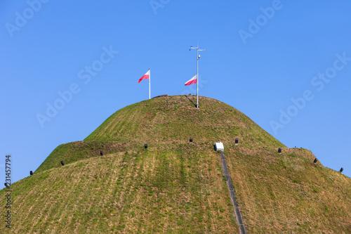 Fototapeta Kosciuszko Mound in Krakow obraz