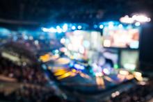 Blurred Background Of Esports ...