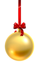 A Bauble Christmas Ball Glass ...