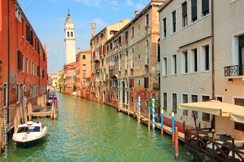 Poster Mediterraans Europa Venice in Italy