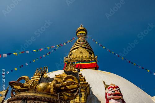 Fotografia  Swayambunath Tample