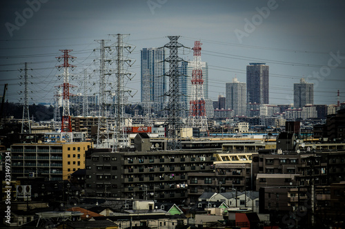 Foto  川崎の街並み