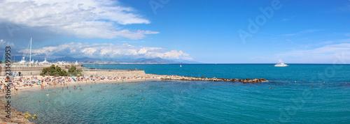 Photo Strand in Antibes Côte d'Azur Frankreich