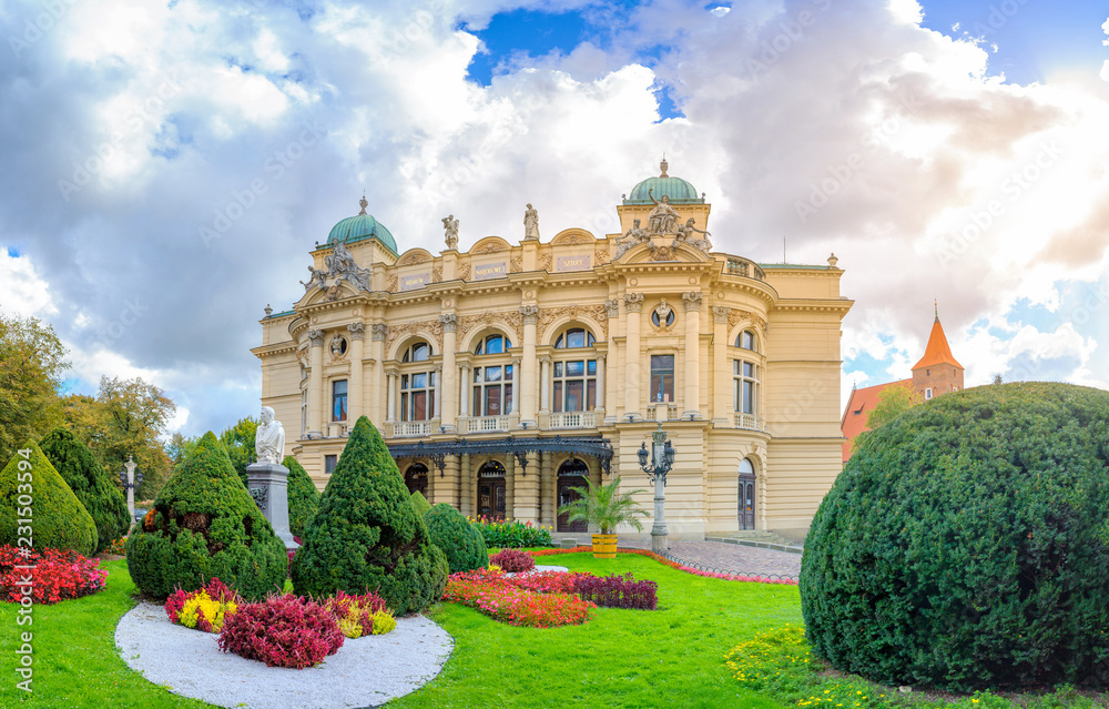 Fototapety, obrazy: Teatr Juliusza Słowackego w Krakowie