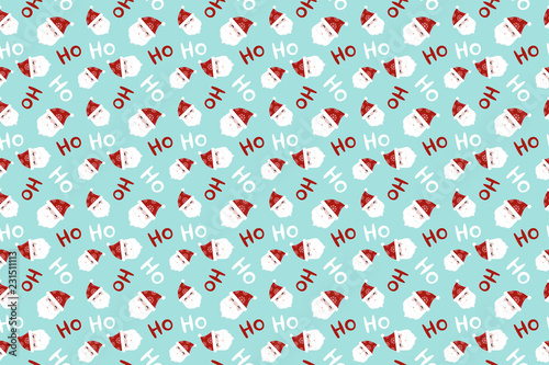 Merry Christmas Pattern Seamless Santa Claus Background Endless Texture For Gift Wrap Wallpaper Web Banner Background Wrapping Paper And Fabric Patterns Buy This Stock Vector And Explore Similar Vectors At Adobe