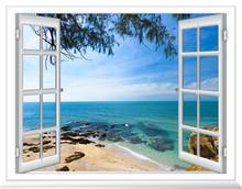 Ocean View Window Open