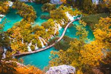 Beautiful Lakes Landscape Fall...