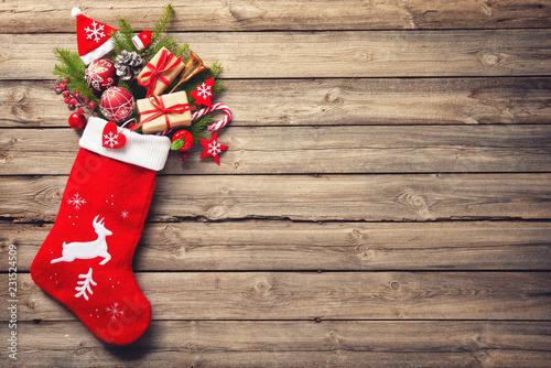 Fototapeta Christmas stocking