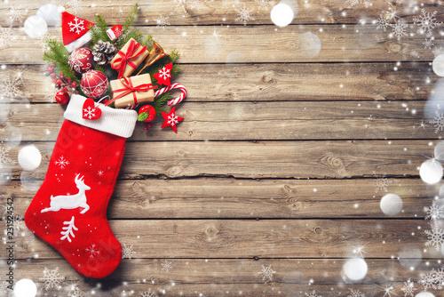 Obraz na plátně Christmas stocking