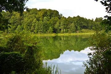 masuria poland summer lake