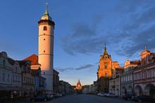 Domazlice, Techische Republik: Der Marktplatz