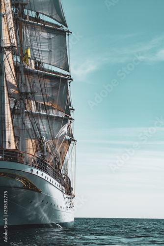 Aluminium Prints Ship Sailing Ship Statsraad Lehmkuhl