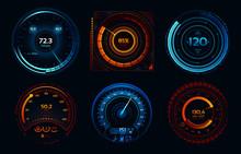 Speedometer Indicators. Power ...