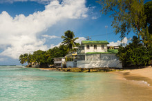 Mullins Beach On Barbados In T...
