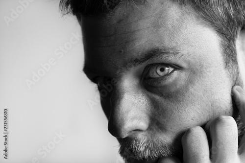 Valokuva  Man portrait