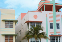 Art Deco Buildings In Miami, F...