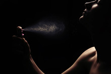 Women's Perfume Spraying
