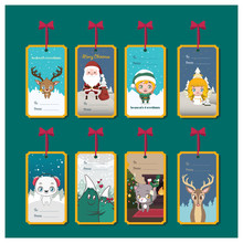 Collection Of Christmas Tags For Presents