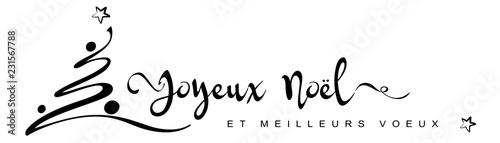 Joyeux Noël Noir Sur Fond Blanc Buy This Stock Vector And