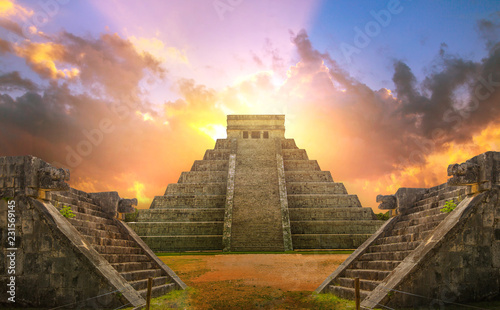 Fotografie, Obraz Mexico, Chichen Itza, Yucatn