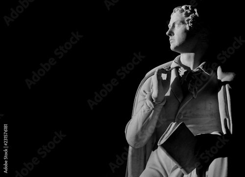 Fotografie, Obraz Lord Byron, the famous English poet